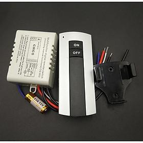 Công tắc điều khiển từ xa 1 cổng ( 1 kênh) bật tắt 1 đèn hoặc 1 hệ thống đèn