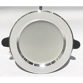 Đèn led dowlight âm trần 3 màu 5W lỗ khoét 75mm đèn lon âm trần 5w