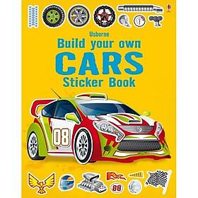 Usborne Build your own Cars Sticker book
