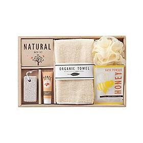 Set quà tặng 5 món đồ dùng nhà tắm nội địa Nhật Bản