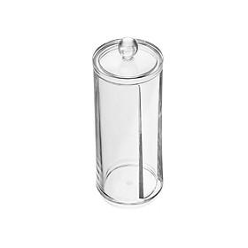Hộp/Ống nhựa trong suốt đựng bông tẩy trang