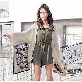 Áo khoác cardigan VOAN mỏng - NHẸ NHÀNG, SANG TRỌNG
