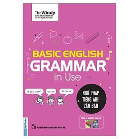 Basic English Gramma In Use - Ngữ Pháp Tiếng Anh Căn Bản ( Bìa hồng phiên bản Chibi ) tặng kèm bookmark