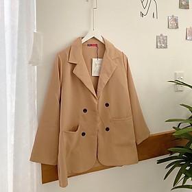 Áo vest kẻ , áo blazer kẻ, áo khoác mỏng-EGANDA