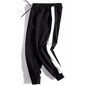 Quần Jogger 1 sọc – Quần 1 line bo nỉ thun nam nữ phong cách Hàn Quốc vải dày mịn Unisex