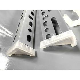 Bộ Chân nhựa 4 cái dùng lắp kệ V lỗ đa năng