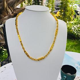 Bộ Dây chuyền Rồng Mạ Vàng 18k, Dài 45cm, Kèm Túi Nhung đựng trang sức.