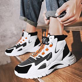 Giày Nam  Giày Sneaker Thể Thao Nam Cổ Cao Phong Cách Hàn Quốc M30