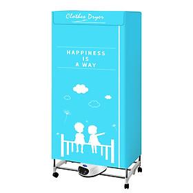 Tủ sấy quần áo trực tiếp bằng 2 nút cảm ứng, thích hợp cho người bận rộn, ở chung cư không có không gian phơi, thời tiết ẩm ướt - Chính hãng (Giao màu ngẫu nhiên)