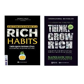 Combo 5 nguyên tắc vàng nghĩ giàu làm giàu + Rich Habits - Thói Quen Thành Công Của Những Triệu Phú Tự Thân