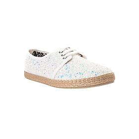 Giày Lười Nữ Flossy W Ayabarrena White - Trắng