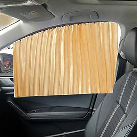 bộ 4 rèm vải lụa che nắng 4 cánh cửa Ô tô đa năng hiệu quả, dùng cho tất cả các dòng xe 4 chỗ, 5 chỗ, 7 chỗ - Hàng Chính Hãng