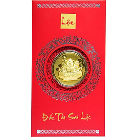 Bao Lì Xì Vàng 24K Kim Hợi Phát Tài Ancarat