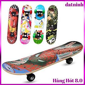 Ván trượt hoạt hình skateboard đáng yêu cho bé