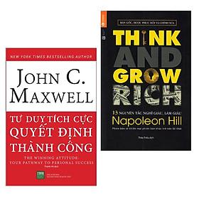 """Combo Sách """"Chỉ Dẫn"""" Thành Công: Tư Duy Tích Cực Quyết Định Thành Công + 13 Nguyên Tắc Nghĩ Giàu Làm Giàu - Think And Grow Rich (Bộ 2 Cuốn Sách Hay Về Tư Duy Và Làm Gìau / Tặng Kèm Bookmark Green Life)"""