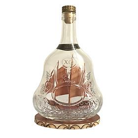 Mô hình thuyền gỗ trong chai N2