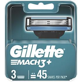 Lưỡi Gillette Mach 3+, vỉ 3