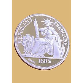 Đồng bạc hoa xòe bạc nguyên chất đánh gió, đánh cảm, đảm bảo chất lượng Bạc BSJ