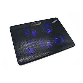 Đế tản nhiệt laptop 5 quạt V5 cao cấp - giải nhiệt toàn diện