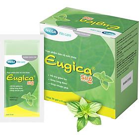 Siro thảo dược Eugica - Hỗ trợ giảm ho, long đờm, nhuận phế - Hộp 30 gói x 5 ml
