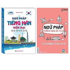 Combo  Ngữ Pháp Tiếng Hàn Hiện Đại (Cuốn Sách Chinh Phục Tiếng Hàn Hiệu Qủa )+Ngữ Pháp Tiếng Hàn Bỏ Túi