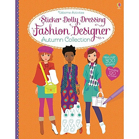 Usborne Sticker Dolly Dressing Fashion Designer Autumn Collection