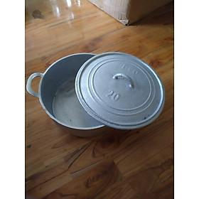 Nồi Gang đúc NGUYÊN KHỐI nấu CƠM SIÊU NGON - Size 25. Dụng cụ nhà bếp được gò THỦ CÔNG đậm chất TRUYỀN THỐNG. Chuyên phục vụ GIA ĐÌNH, NHÀ HÀNG ĐẲNG CẤP