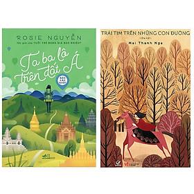 [Download Sách] Combo 2 cuốn sách văn học hấp dẫn : Ta Ba Lô Trên Đất Á + Trái Tim Trên Những Con Đường ( Tặng kèm Bookmark Thiết Kế)