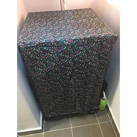 Trùm máy giặt cửa trên - vải dù - 12-15kg - màu ngẫu nhiên - cao cấp
