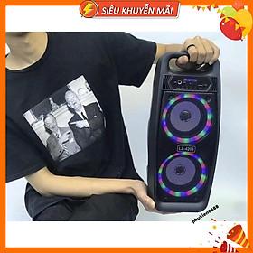 Loa Karaoke Bluetooth LZ-4206 Công Suất Lớn Âm Thanh Khuếch Đại Gấp Nhiều Lần,Có Tặng Kèm Míc Có Dây