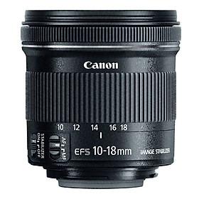 Lens Canon EF-S 10-18mm f/4.5-5.6 IS STM (L258) - Hàng Chính Hãng
