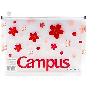 Túi Đựng Tài Liệu Campus Sakura CLB-A4-SKR - Màu Đỏ