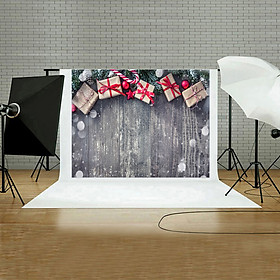 (Toponeto) Christmas Backdrops Vinyl Wall 5x3FT  Digital  Background Photography Studio A