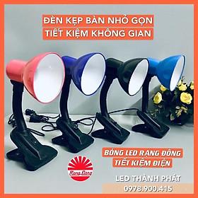 Đèn học KẸP BÀN chống cận nhỏ gọn, phù hợp cho bàn gấp kèm bóng LED 5W tiết kiệm điện năng, bảo vệ thị lực