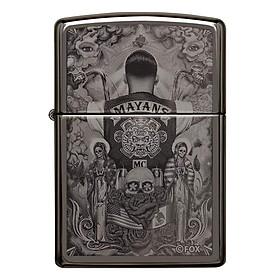 Bật Lửa Zippo 49031 – Zippo Mayans M.C. Black Ice