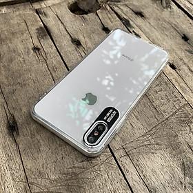 Ốp lưng bảo vệ camera dành cho iPhone X / iPhone XS - Màu đen