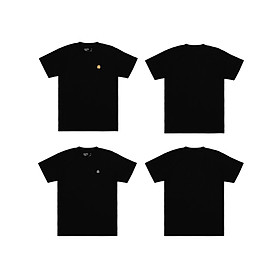 Combo 2 Áo thun 5THEWAY Tay Ngắn Đen aka 2 PACK 5TW/RTW TRADITIONAL FIT TEE in BLACK TEE