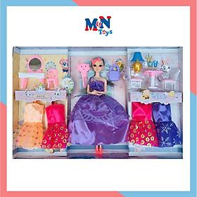 Búp bê đồ chơi công chúa và phụ kiện thời trang 755-276