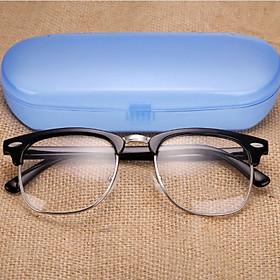 Kính lão thị kính viễn thị khung to tròn sẵn độ +100 đến +400 cực sáng rõ KV327
