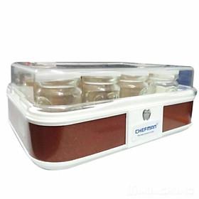 Máy làm sữa chua CHEFMAN  với cốc thủy tinh 12 chiếc