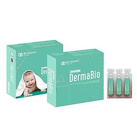 Livespo DermaBio - Bào tử lợi khuẩn dạng xịt cho da mẹ và bé bị viêm, nấm, kích ứng, nhiễm trùng (6 tỷ lợi khuẩn sống/5ml bảo vệ da toàn diện cho bé)