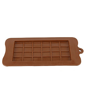 1PCS Waffle Chocolate Mold Silicone Square Mold Bakeware Heat Resistant Mold Reusable Kitchen Baking Tools