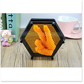 Lưu giữ kỉ niệm đẹp Hanprint 3D PinArt 18cm (Màu cam)