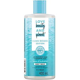 Sữa Tắm Love Beauty And Planet Đại Dương Cấp Ẩm 400ml
