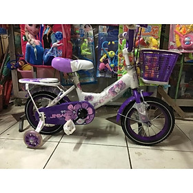Xe đạp trẻ em 1 gióng cho bé gái 38D