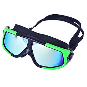 Adults Men Women Swimming Goggles Waterproof Anti-frog Electroplating Glasses