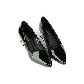 Giày Bít Mũi Nhọn Gót Vuông Sunday BB43