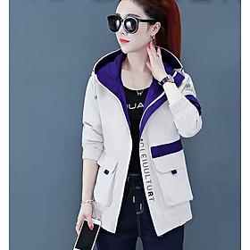 Áo khoác dù nữ túi hộp phong cách hàn đẹp tinh tế MS 95