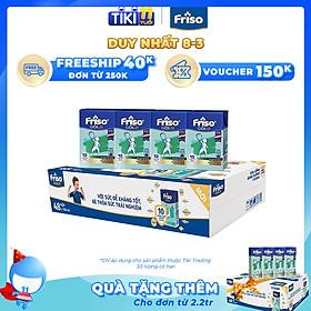 Thùng 48 Hộp Sữa Bột Pha Sẵn Friso Gold Rtd Vani (48 Hộp X 110ml)