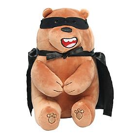 Gấu bông Miniso Bare Bears Halloween Plush-Grizz - Hàng chính hãng